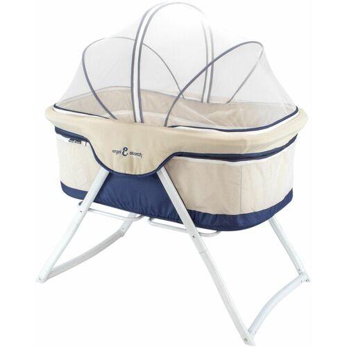 I-FLAIR Baby Babybett BEBITO Reisebett Beistellbett mit Moskitonetz und