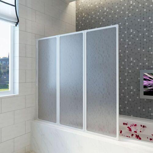 YOUTHUP Badewannen Faltwand Duschabtrennung 117 x 120 cm