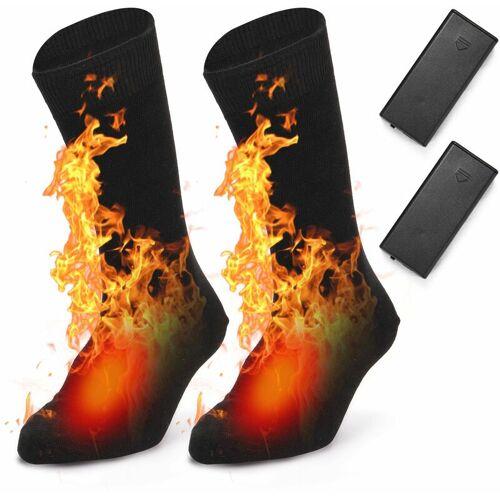 HAPPYSHOPPING Beheizte Beheizte Socken Winter beheizt Socken abatterie gel?teten