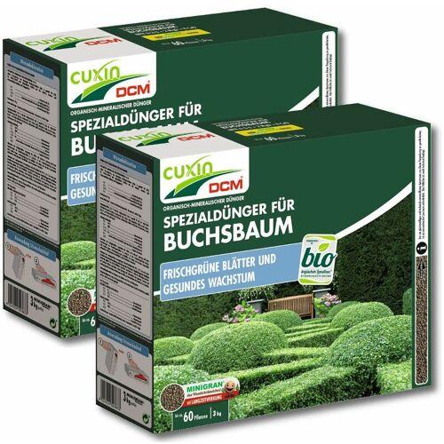 CUXIN Buchsbaumdünger 6 kg Gartendünger Heckendünger Baumdünger