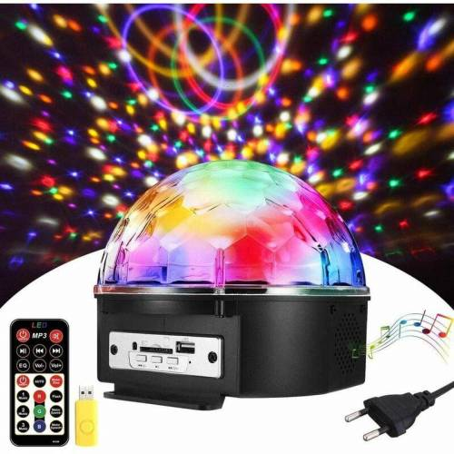 THSINDE Discokugel, LED Discokugel Kinder Partylicht Disco Lichteffekte