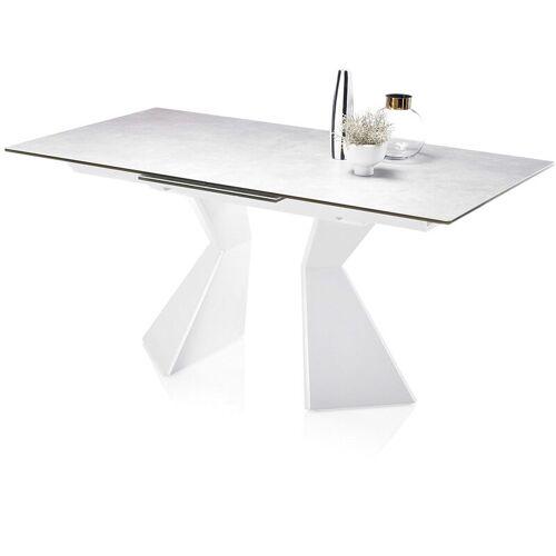 Lomadox - Esstisch erweiterbar KAPRUN-119 Tischplatte mit