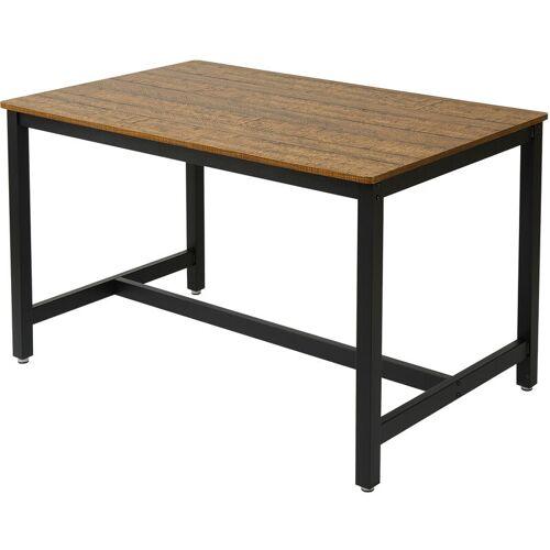 Meerveil - Esstisch, hölzerner Esstisch, langer Indoor-Tisch im