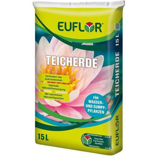 EUFLOR Teicherde für Wasserpflanzen Sumpfpflanzen, 15 Liter