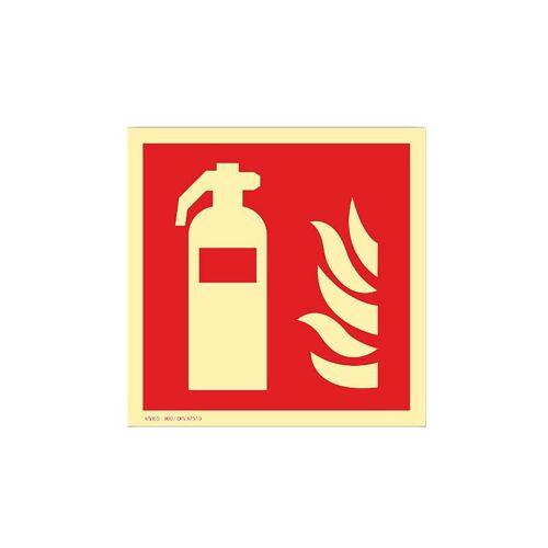 FÖRCH Brandschutzzeichen Feuerlöscher  BRANDSCH.FEUERLÖSCHER F - Förch