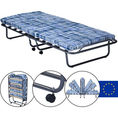 DILUMA Gästebett Basic mit Matratze 80 x 190 x 6 cm klappbares Bett