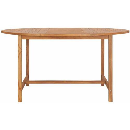 Zqyrlar - Gartentisch 150 x 76 cm Massivholz Teak
