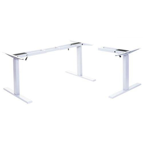 HHG Gestell HHG-772, variables Tischgestell für Eck-Schreibtisch,