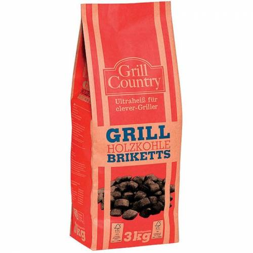 Profagus - Grill Country Grill Holzkohle Briketts für clever Griller