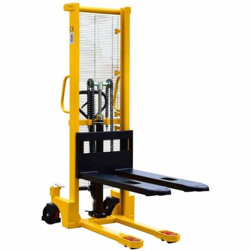 Midori - Hochhubwagen Handstapler Hydraulik PU 1,0t / 1000kg Hub 1,6m /