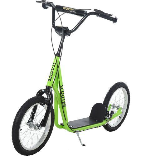 HOMCOM ® Tretroller Scooter Cityroller Kinder Luftreifen Roller verstellbar