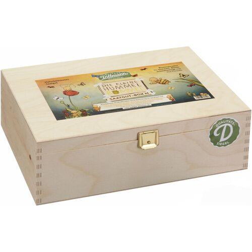 SAATGUT DILLMANN Hummel Bommel Box M (Holzbox)   Samen-Sets von - Saatgut Dillmann
