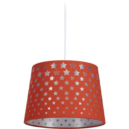 RELAXDAYS Kinderzimmerlampe Sterne, hängende Kinderlampe für Jungen & Mädchen,