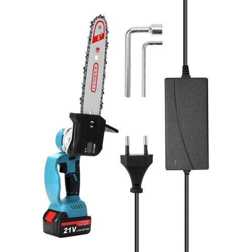 KKmoon, 8 Zoll 21 V, elektrische Kettensage, eine Ladung und eine