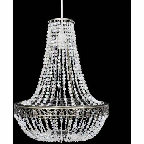 Zqyrlar - Kristall Anhänger Kronlampe 36,5 x 46 cm