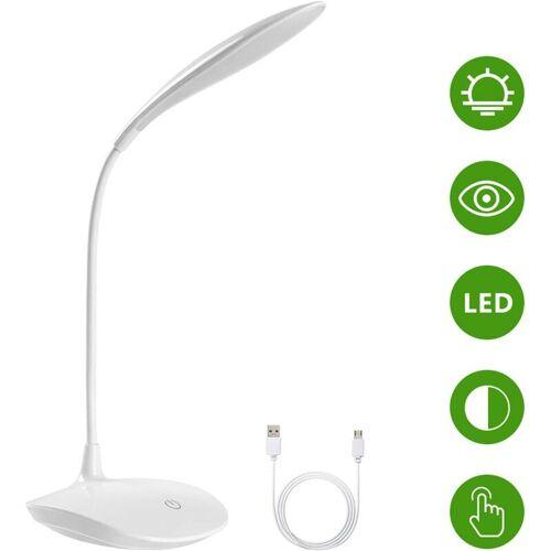 Bearsu - LED-Schreibtischlampe, USB-Schreibtischlampe, Bürolampe,