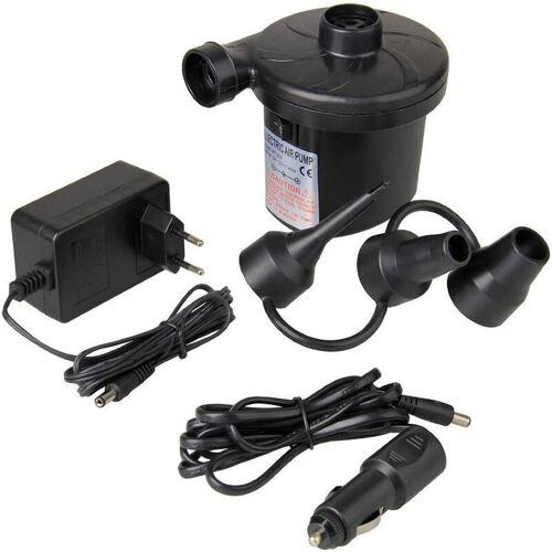 LITZEE Elektropumpe, DC12V / AC 230V-50Hz Elektrischer Inflator / Deflator,