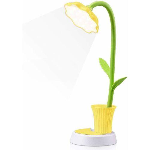 LITZEE Kids Nachttischlampe, Kreative wiederaufladbare