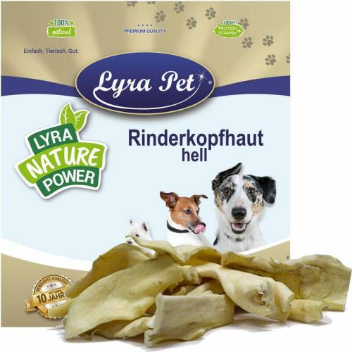 LYRA PET 25 kg Lyra Pet® Rinderkopfhaut hellbraun, hell