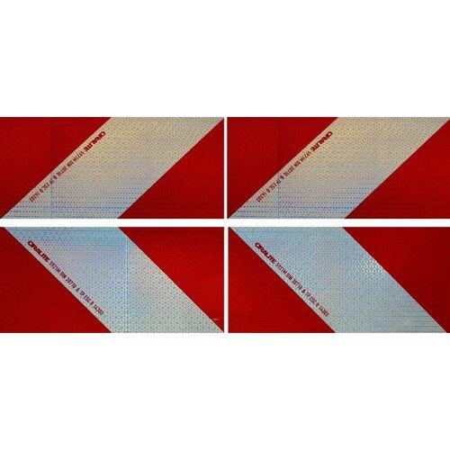 UVV Magnetische Orafol 4 x 141 x 282 mm (Re/Li) Kfz-Warnmarkierung