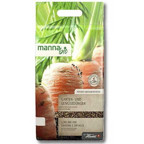 Manna Bio Gartendünger Gemüsedünger 5kg Tomatendünger Universaldünger