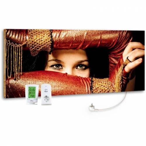 MARMONY M800 PLUS 800 Watt Infrarotheizung 'Arabic Eyes' inkl. MTC-40