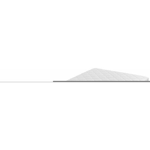Zqyrlar - Matratze mit waschbarem Bezug 200×90×17 cm