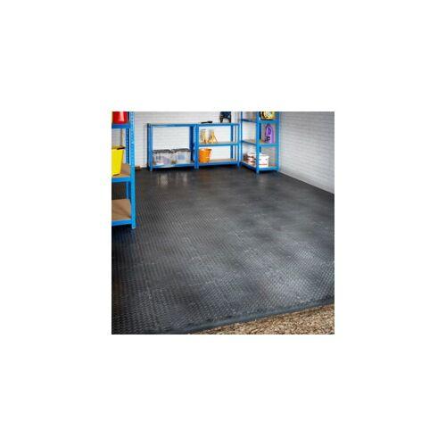 CERTEO Mega Deal   PVC Garagenboden + Rampen 6 x 6m (Doppelgarage)   Geriffelt