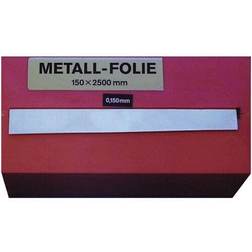 Metallfolie Dicke 0,025mm Stahl L.2500mm B.150mm