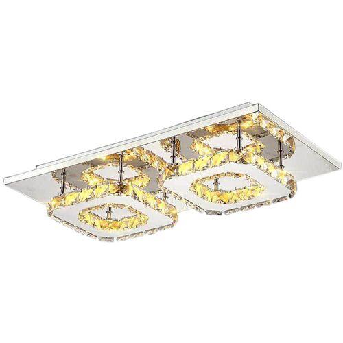 STOEX Moderne LED Kronleuchter Doppelkopf Deckenleuchte Luxus Mode