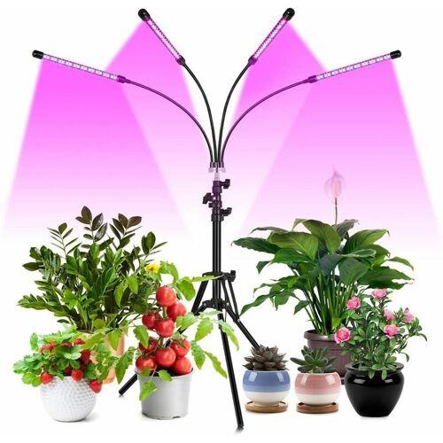 THSINDE Pflanzenlampe LED 40W 4 Heads Pflanzenlicht Pflanzenleuchte