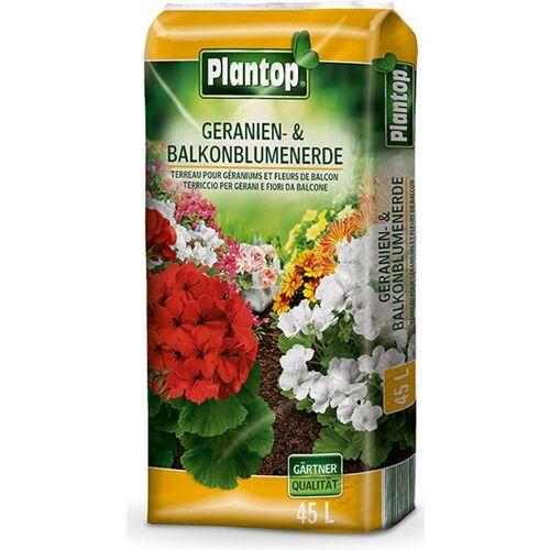 PLANTOP Geranien- und Balkonblumenerde 45 Liter - Plantop