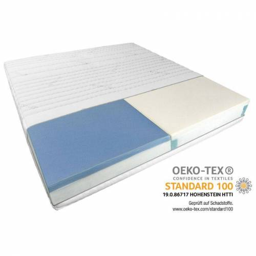 Am Qualitätsmatratzen - Premium 7-Zonen Partnermatratze   140x210 cm