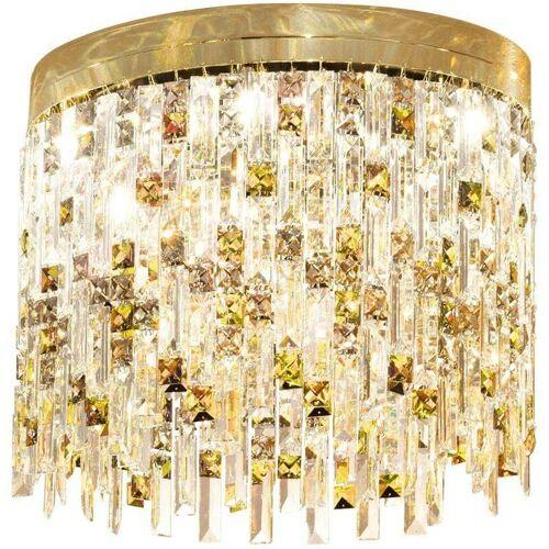 14-kolarz - PRISMA Kristall Deckenleuchte 24K Gold 6 Lampen