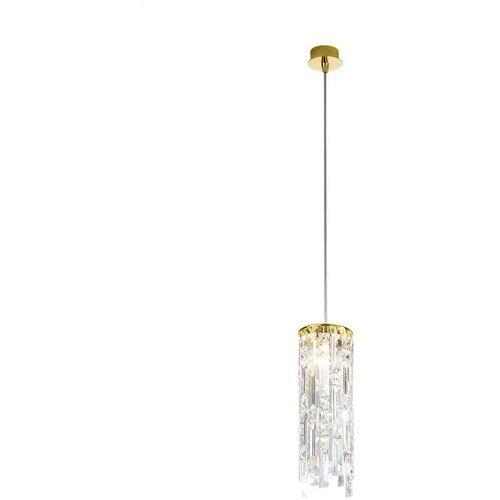 14-kolarz - PRISMA Kristall Pendelleuchte 24K Gold 1 Lampe 25W