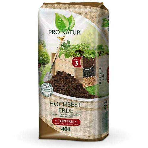 PRONATUR Hochbeet-Erde 40 Liter - Pronatur