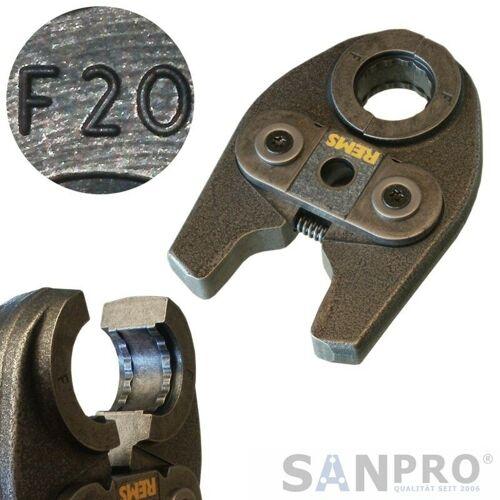 REMS Pressbacke - Presszange MINI mit Pressprofil F 20