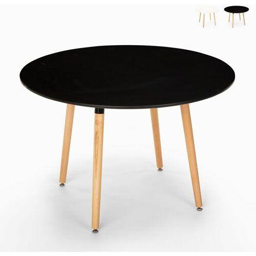 Ahd Amazing Home Design - Runder Holztisch Design Holz 100cm Küchenbar