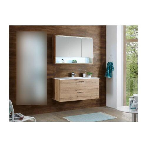 HOMEZONE.DE Badezimmer Oak 'Best' in San Gallo 2 teilig mit Waschbeckenunterschrank