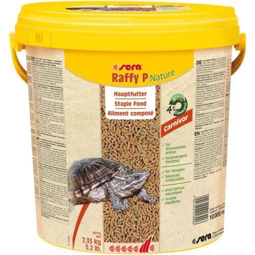 SERA Raffy P Hauptfutter für Wasserschildkröten 10 Liter Eimer Aquarium
