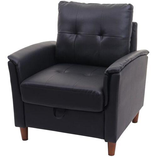 HHG Sessel 691, Loungesessel Cocktailsessel Relaxsessel Fernsehsessel,
