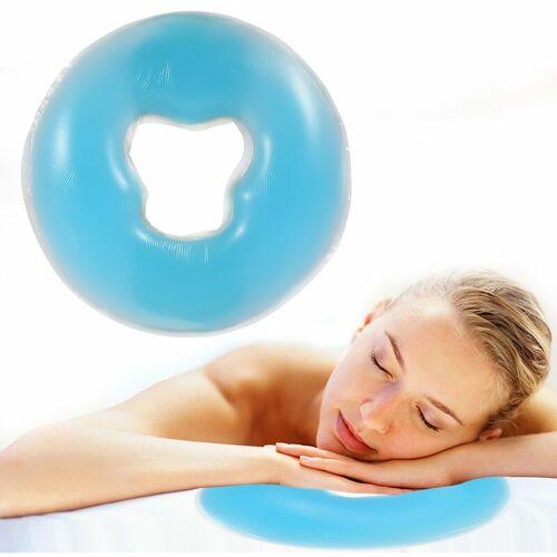 BEARSU Silikon Kopfkissen Weiche Massage Gesicht Entspannen Kissen Kopfstütze,