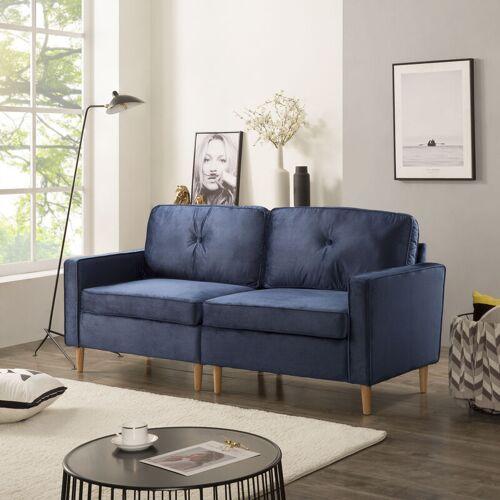 Happyshopping - Sitzsofa, Wohnzimmersofa, modernes Sofa mit