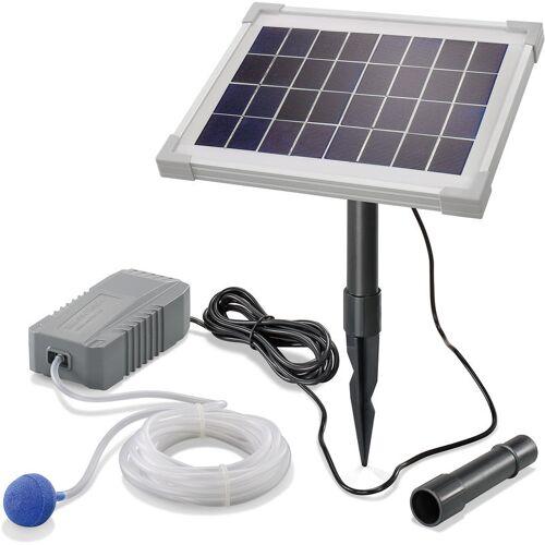 ESOTEC Solar Teichbelüfter 5W 130 l/h Pumpe Teichbelüftung Sauerstoff esotec