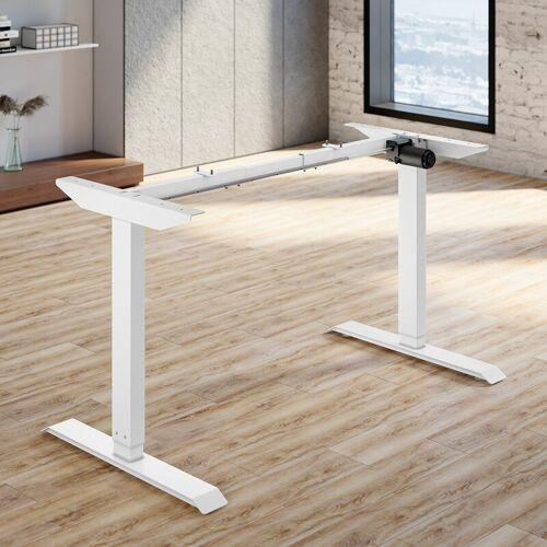 SONNI Tischgestell Elektrisch Höhenverstellbar Breiteverstellbar