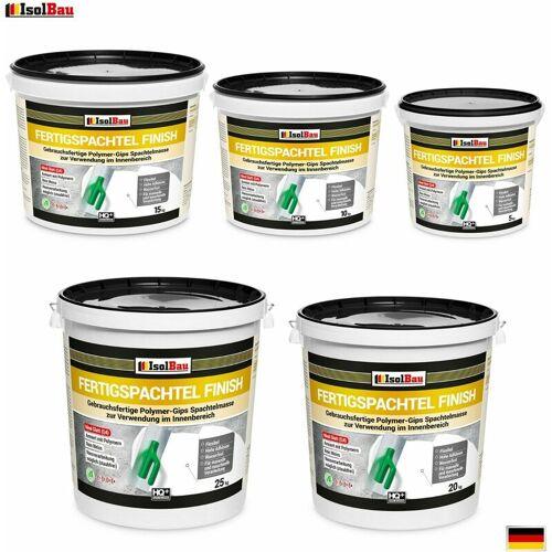 ISOLBAU Spachtel Masse 5 kg - 100 kg Fertigspachtel Finish Q4 Gips Glätt