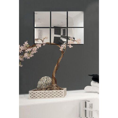 MSV Spiegel Spiegelfliesen Wandspiegel Fliesenspiegel selbstklebend 18