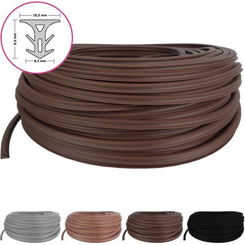 PROHEIM Fugendichtband für Terrassendielen mit Fugenabstand von 5 - 7,5 mm:Braun