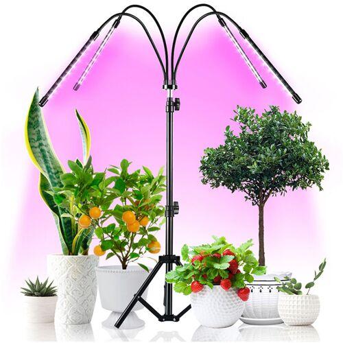 ASUPERMALL Wachsen Sie leicht mit Pflanzenhalter Zimmerpflanzen wachsen Lampen
