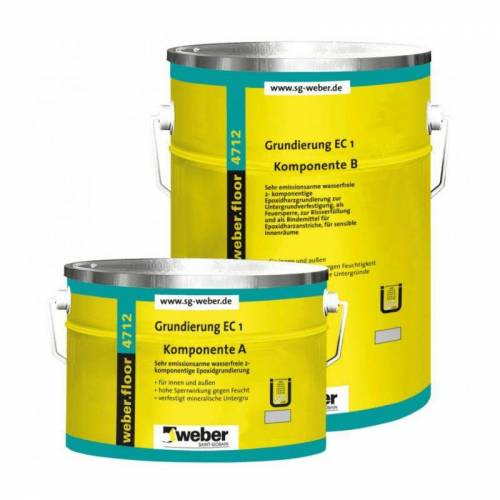 Weber floor 4712 - Epoxidharzgrundierung, 10 kg